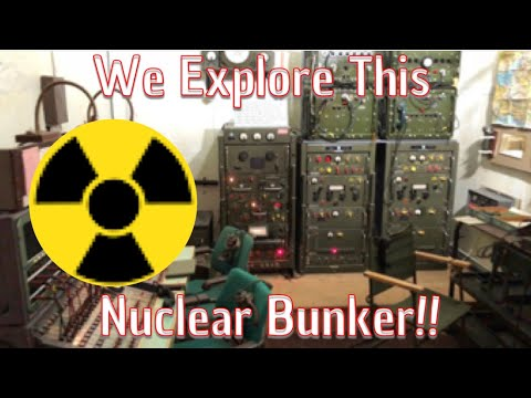 We Explore The Secret Hack Green Nuclear Bunker Museum
