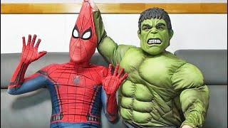 Spider Man VS Hulk
