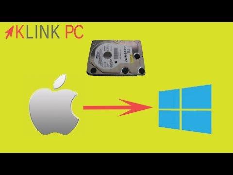 Comment transférer vos données MAC vers un PC Windows facilement et gratuitement ?