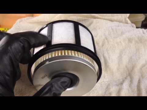 Ford 7.3L Powerstroke Fuel Filter Replacement