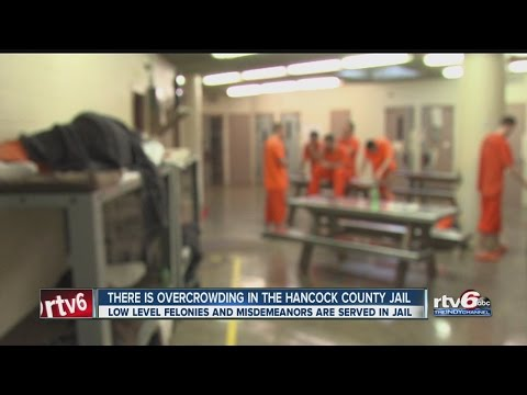 Overcrowding causing issues at Hancock County Jail