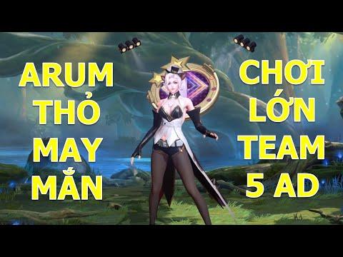 Phản ứng team bạn khi thấy Arum thỏ may mắn là vác 5 AD để bán hành và cái kết