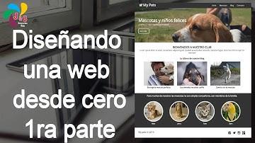 Diseñando una web responsive desde 0 (sin plugins ni framewoks), HTML y CSS - 1ra parte