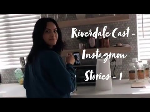 RIVERDALE CAST - Instagram Stories/Funny Moments (between S2 & S3) - 1