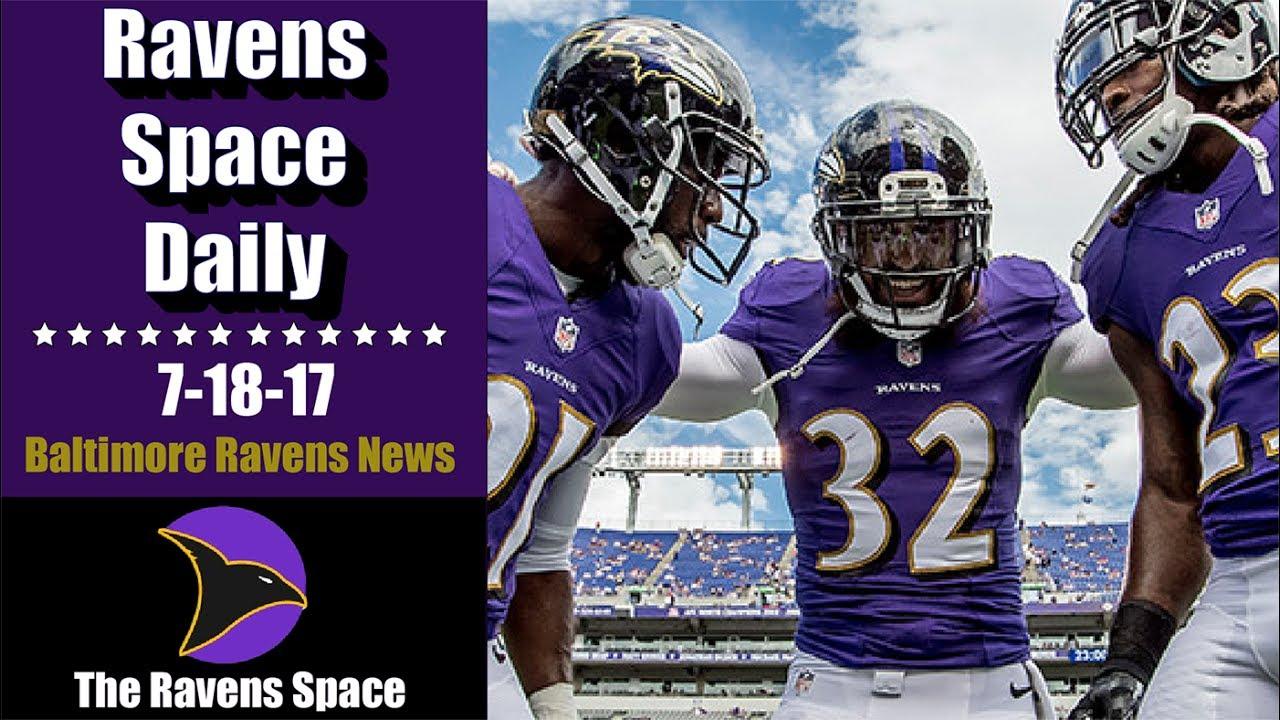 1ebdfdcb6 ... Jersey Ravens Defensive Backs Rank in Top 10! - 7-18-17 Baltimore  Ravens ...