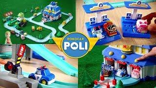 Toy CF Compilation   Robocar poli special clips