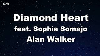 Diamond Heart Feat. Sophia Somajo - Alan Walker  【no Guide Melody】 Instrumental