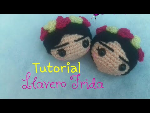 Frida Kahlo mini crochet Doll Frida Kahlo mini muñeca | Etsy | 360x480