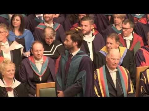 David Tennant, Doctor Honory of Drama sub ita