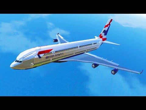 WORLD'S BIGGEST PLANE! (Simple Planes #10)