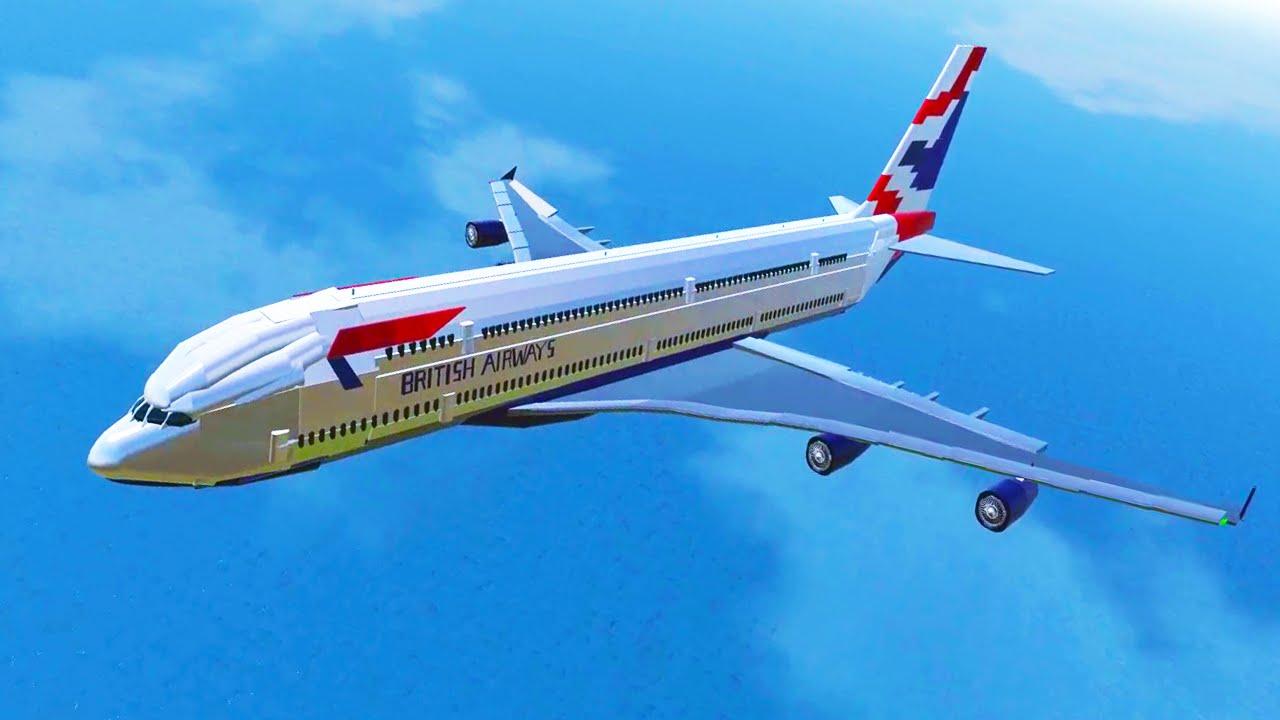 WORLD'S BIGGEST PLANE! (Simple Planes #10) - YouTube