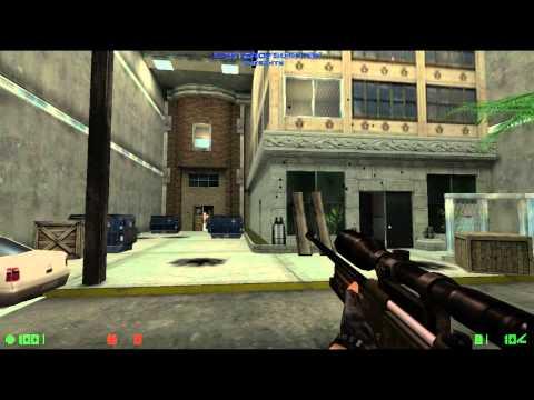 Counter-Strike: Condition Zero Deleted Scenes - Walkthrough Mission 0 - Counter Terrorist Training