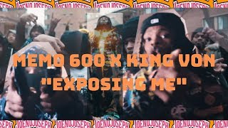 "Memo 600 x King Von ""Exposing Me""  *Reaction"