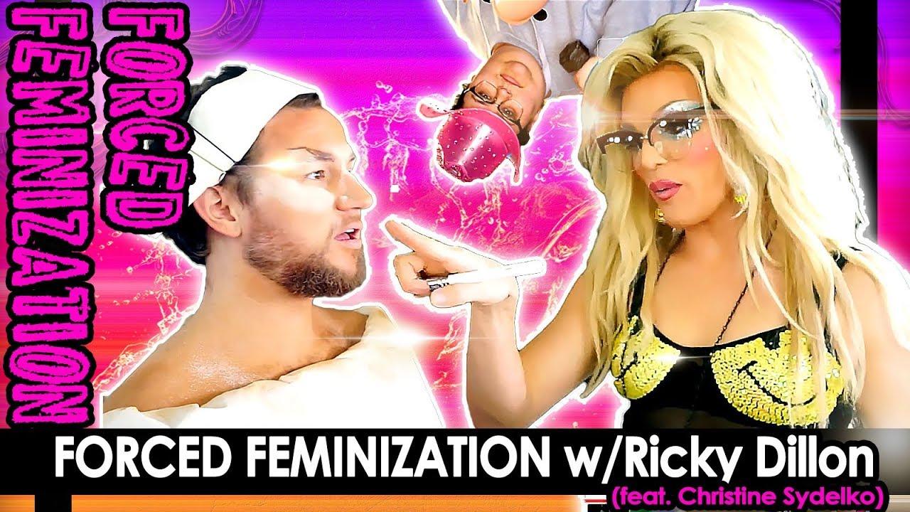 Forced Feminization W Ricky Dillon Feat Christine Sydelko