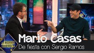 Pablo Motos y Mario Casas se ríen por una anécdota con Sergio Ramos de fiesta - El Hormiguero 3.0