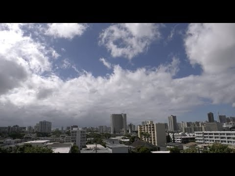 Hurricane Lane Honolulu Hawaii Skyline Cam