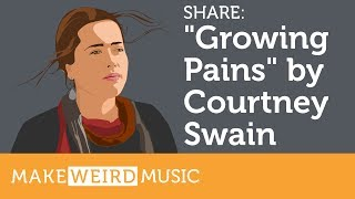 """Share: Courtney Swain's """"Growing Pains"""" EP Resimi"""