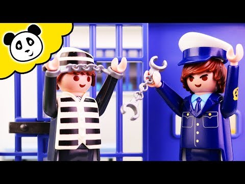 Playmobil Polizei - Toni hinter Gittern! - Playmobil Film