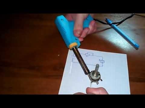 Как подключить переменный резистор? (Простая электроника #4 )