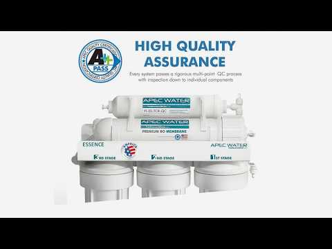 APEC Reverse Osmosis Water Filter System Apec Water Filter RO Filter