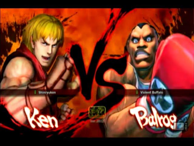 Luta na Live - Ken VS Balrog