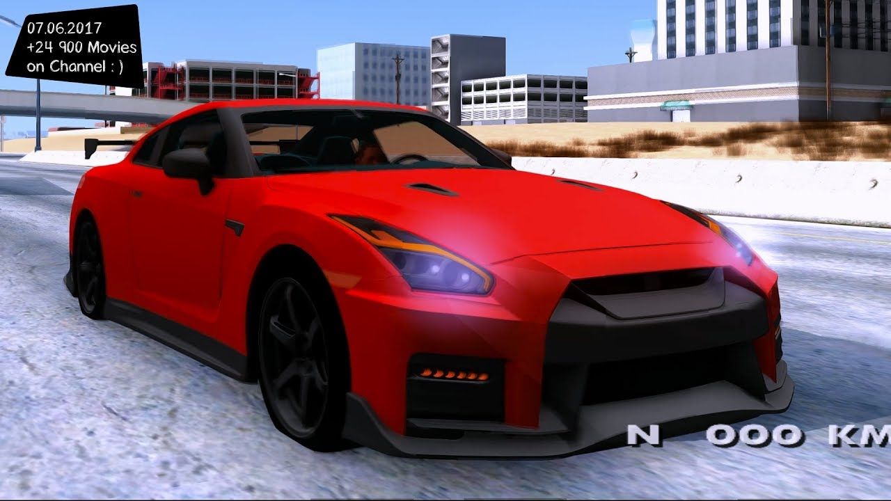 nissan gt r nismo 2017 new enb top speed test gta mod future youtube. Black Bedroom Furniture Sets. Home Design Ideas