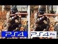 Battlefield V | PS4 vs PS4 Pro | Campaign Comparison | Comparativa gráfica
