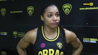 Ineidis Casanova post Obras Basket 81-78 Berazategui (02-07-2017) LFB