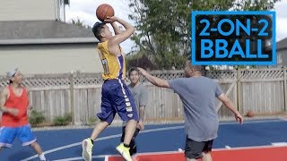 2 ON 2 BACKYARD BBALL TOURNAMENT W/ RICHIE & HOOP AND LIFE