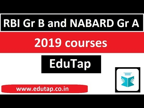 RBI Grade B 2019 Online Coaching Course | RBI Grade B Phase 2 Exam