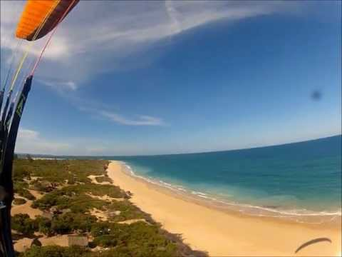 1st flight in Mozambique PPG