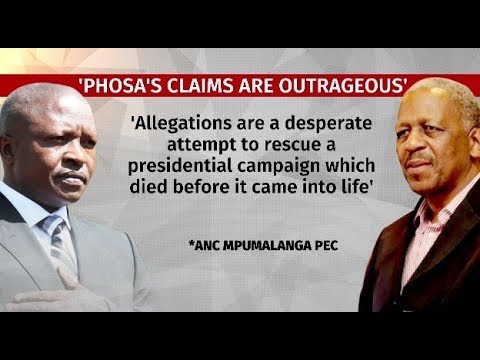 Phosa claims outrageous: Mpumalanga ANC