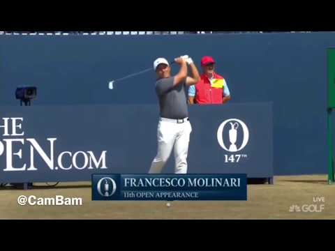 Francesco Molinari Final Round The Open 2018
