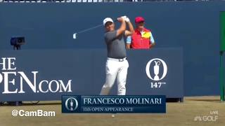 Francesco Molinari Final Round The Open 2018