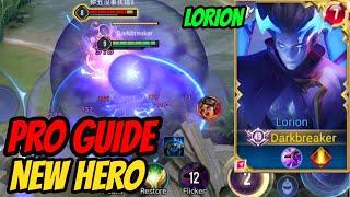 LORION NEW HERO BEGINNERS GUIDE - How to Play the NEW HERO   AoV   傳說對決   RoV   Liên Quân Mobile