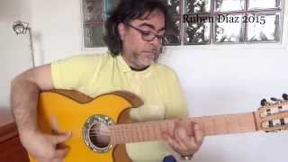 Strings, fret division , fret-boards and tuning / Q & A on modern flamenco guitar / Ruben DIaz Spain