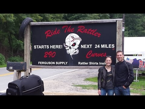 The Rattler (NC 209) + Ride Review - US Motorcycle Trip Part 15