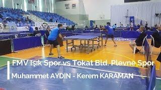 Muhammet AYDIN 3 (FMV Işık Spor) - Kerem KARAMAN 1 (Tokat Bld. Plevne Spor)