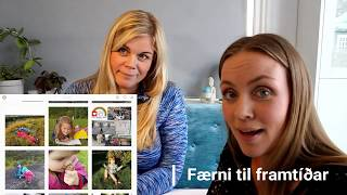 7. þáttur -  Fyrirmyndir og skaparar - Sabína og Færni til framtíðar