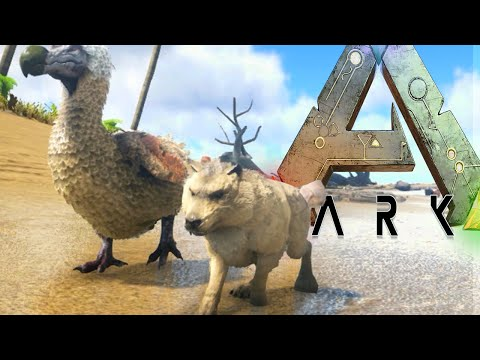 Ark Survival Evolved - PLAY AS WOLF PACK, TREX FIGHT, PUPPY (Ark Modded Gameplay)