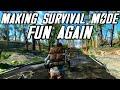 How To: Make Survival Mode Fun Again - Fallout 4