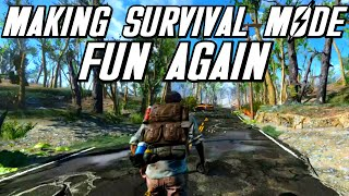 How To: Make Survival Mode Fun Again - Fallout 4