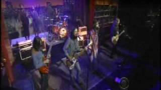 Black Crowes on Letterman