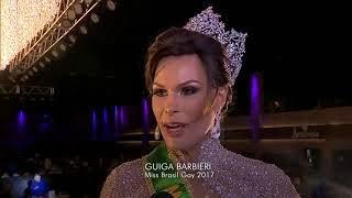 Fantástico 27/08/2017 Silvero Pereira, de A Força do Querer, conhece candidatas a Miss Gay