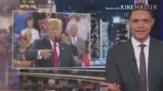 Trevor Noah Breaks Down Trump's Awkward New Hand Gestures