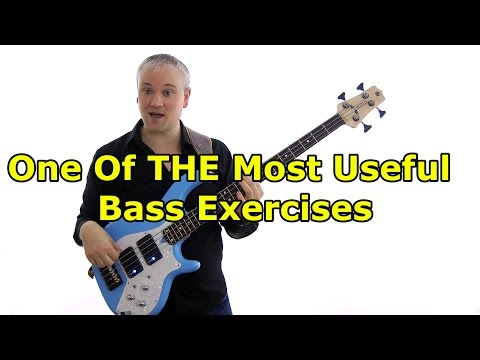 One Of THE Most Useful Bass Exercises - Cycle Of 4ths and Notes On The Neck Combined