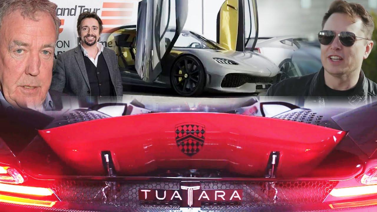 Grand Tour и Илон Маск, Koenigsegg Gemera и РАЗГОН SSC Tuatara! #АвтоНовости