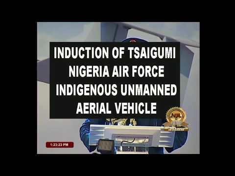 President Buhari Inaugurates Nigerian Air Force Indigenous Unmanned Vehicle
