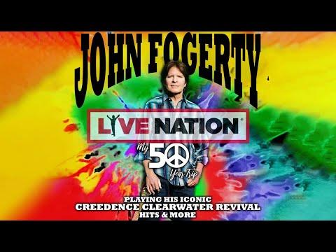John Fogerty | My 50 Year Trip Tour Trailer 2019 | Live Nation GSA