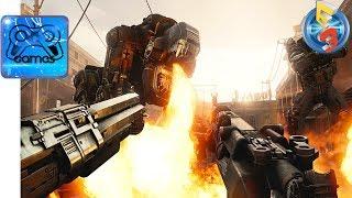 WOLFENSTAIN II׃ The New Colossus - Геймплейный Трейлер (E3 2017)